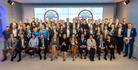 Gewinner des Deutschen Exzellenz-Preises 2020 (Foto: Thomas Ecke/DISQ/n-tv/'DUB Unternehmer-Magazin')